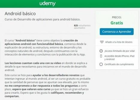 Curso online gratuito de programación android, en español y con certificado   Aprendiendo a Distancia   Scoop.it