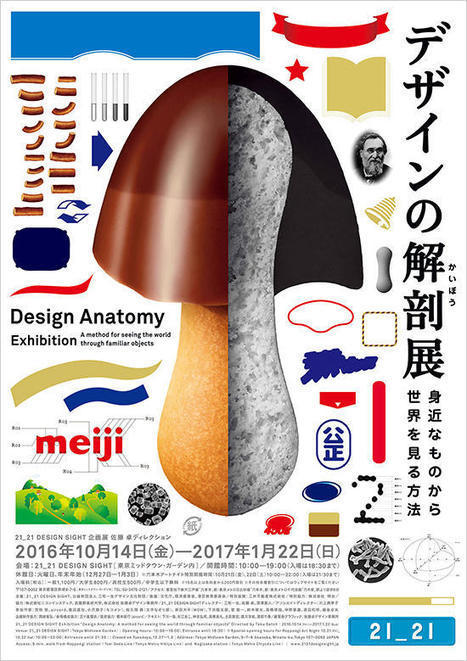 21_21 Design Sight | Design Anatomy: A method for seeing the world through familiar objects | design exhibitions | Scoop.it