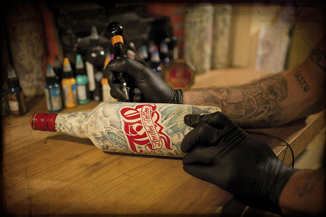 le sphinx tattoos 25 limited edition J+B whiskey bottles | What's new in Visual Communication? | Scoop.it