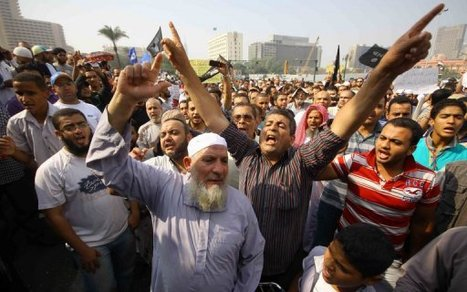 Egypt Salafists demand Islamic rule in Cairo protest - FRANCE 24 | The Indigenous Uprising of the British Isles | Scoop.it