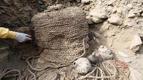 Deux momies millénaires découvertes intactes sur un site pré-inca au Pérou | Merveilles - Marvels | Scoop.it