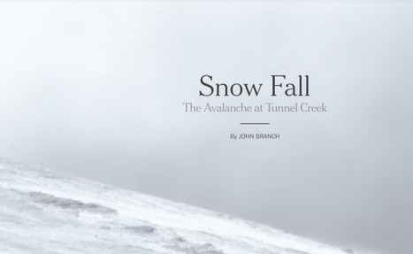 Multimedia Reporting: Snow Fall, A New Wave Of Literary Journalism? | AdLit | Scoop.it
