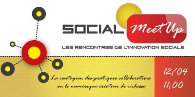 Social MeetUp, les rencontres des innovations sociales, le 12 avril | La Cantine Toulouse | Scoop.it
