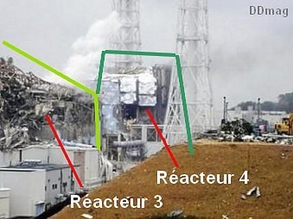 Tepco montre une photo des réacteurs nucléaires 3 et 4   DDMagazine   Japon : séisme, tsunami & conséquences   Scoop.it