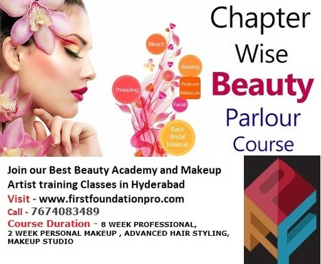 First Foundation Pro Beautician Academy Hyderabad | Scoop it