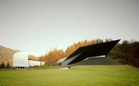 Tyrolean Festival Hall Reflects the Dramatic Landscape of the Austrian Alps | retail and design | Scoop.it