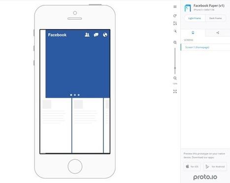 10 Outils pour faire vos prototypes web et mobile   transition digitale : RSE, community manager, collaboration   Scoop.it