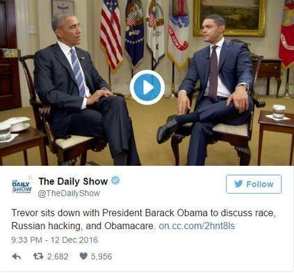 President Obama Explains to Trevor Noah How He Navigates Racial Topics   Mixed American Life   Scoop.it
