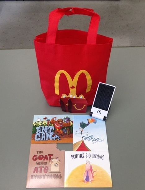 McDonald's Happy Meals Encourage Reading with Fun New Books-Giveaway   English As A Second Language   Scoop.it