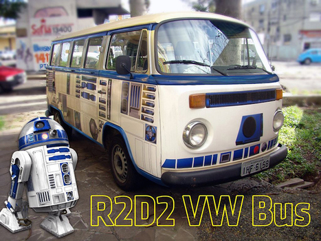 R2D2 VW Bus | L'Empire du côté obscure | Scoop.it