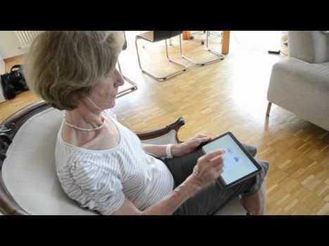 Les tablettes tactiles à la conquête des seniors   Mobinautes   Scoop.it