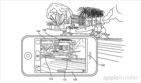 Apple patents augmented reality mapping system for iPhone | AR - QR | Scoop.it