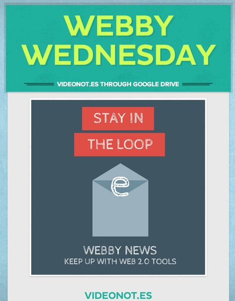 Librarians on the Fly: Webby Wednesday - VIDEONOT.ES WITHIN GOOGLE DRIVE | Educational technology | Scoop.it