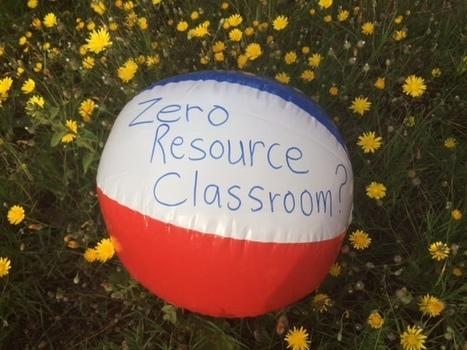 Zero Resource Classroom #1 – Heart ELT   Professional Development and Teaching Ideas for English Language Teachers   Scoop.it