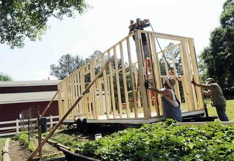 Georgia Family's Tiny House Walls Go Up | Kevin I Mills | Scoop.it