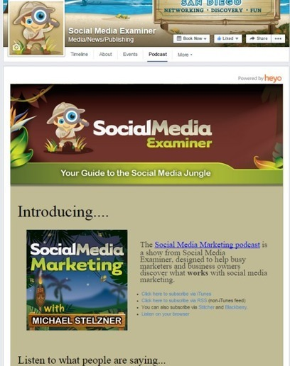 15 Types of Facebook Apps to Enhance Your Facebook Page   Social Media Examiner   Social Media Magic   Scoop.it