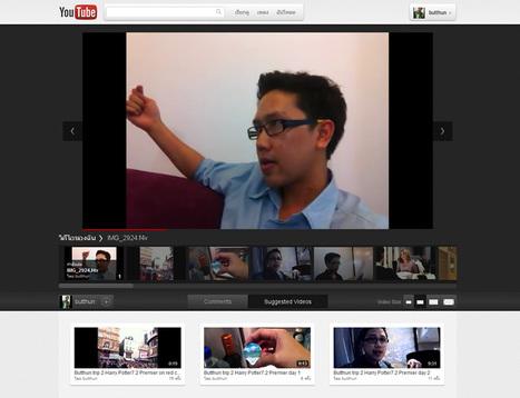 Youtube เปิดให้ลองหน้าตารูปแบบใหม่ที่มีจะเปลี่ยนประสบการณ์ของ ผู้ดูวิดีโอให้ดียิ่งขึ้น | Butthun | Scoop.it