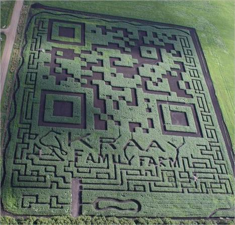 Un QRcode de 3 hectares, record battu ! | QR-Code and its applications | Scoop.it