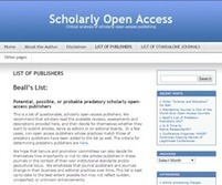 Who will keep predatory science journals at bay now that Jeffrey Beall's blog is gone? | Notebook | Scoop.it