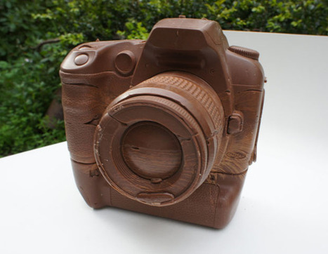Nothing Says 'I Love You' to Photo Geeks Like This Chocolate DSLR | Photography & Photographers | Scoop.it