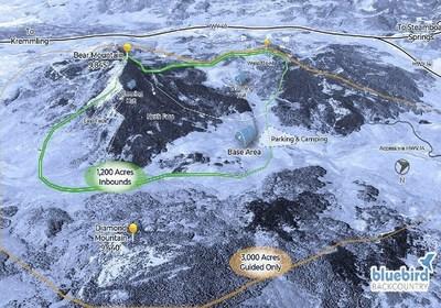 USA - Une nouvelle station de ski sans remontées mécaniques !