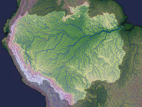 Why the Amazon flows backwards... | Geology | Scoop.it