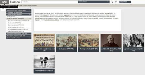 L'histoire de France par l'image, version Gallica - extraordinaire ressource pour l'enseignement de l'histoire | Ressources en HGEC | Scoop.it