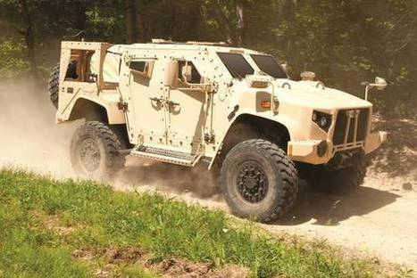 Oshkosh Wins $6.75 Billion Military Contract to Replace Humvee   Internet of Things - Technology focus   Scoop.it