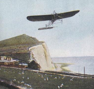 25 juillet 1909 - Louis Blériot traverse la Manche en avion | blog de Jobris | Scoop.it
