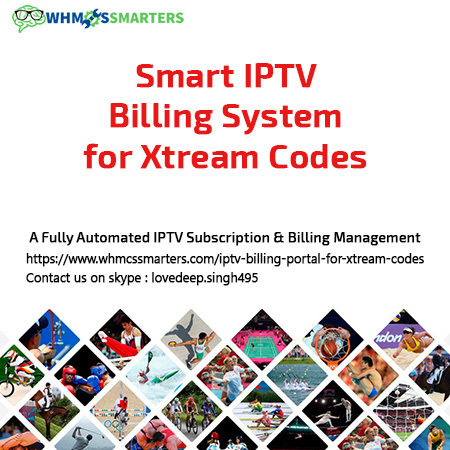 Axxess Module for WHMCS | IPTV Billing Portal |