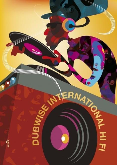 30 Amazing Reggae Poster Art | Luc Koukoui | Scoop.it