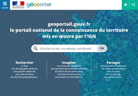 Le nouveau Géoportail est en ligne - IGN | Education et TICE | Scoop.it