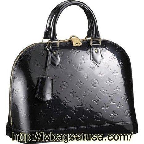 29cb5f02f358 Louis Vuitton Outlet Alma Monogram Vernis M9161...