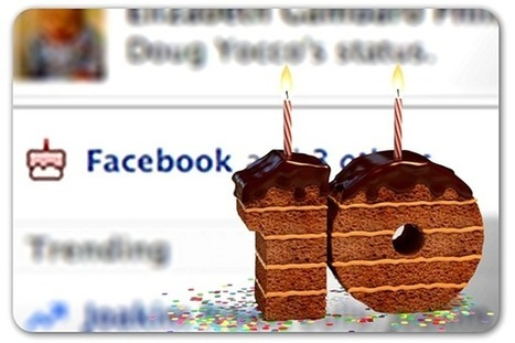 How the Web is celebrating Facebook's 10th anniversary | Communication Advisory | Scoop.it