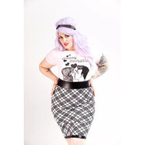 ad306e1d786 Plus Size Pepper Pencil Skirt From Candy Strike - PLUS Model Mag