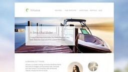 Virtuous WordPress Theme from CPOThemes | Free & Premium WordPress Themes | Scoop.it