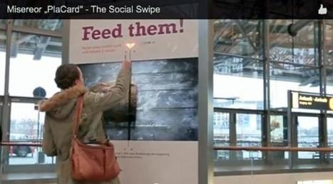 SOFII · 'Social Swipe': raising money for Misereor through interactive posters | Irresistible Content | Scoop.it