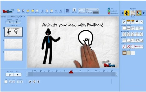 A Very Useful Tool to Create Educational Animated Videos on Google Drive ~ Educational Technology and Mobile Learning | Tools for  Teaching | Scoop.it