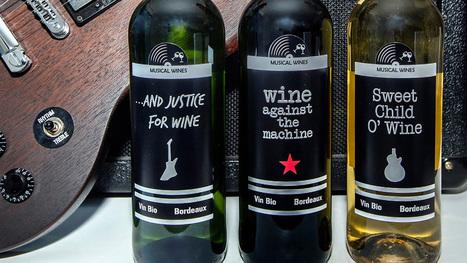 Un château bordelais lance le premier vin rock français: « C'est sûr, ce n'est pas l'habitude à Bordeaux » | Le vin quotidien | Scoop.it
