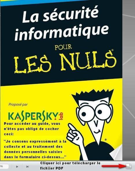 Guide gratuit sur la Sécurité Informatique pour les Nuls... Colok Traductions | Web information Specialist | Scoop.it