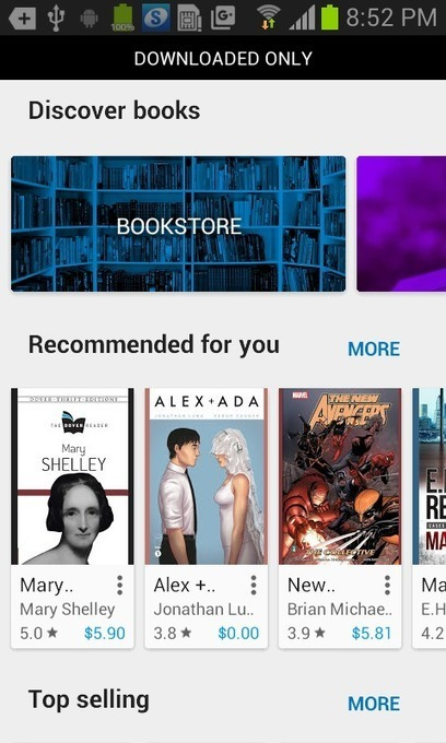 Here is the New Google Play Books Discovery Feature | Pobre Gutenberg | Scoop.it