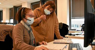 Privés d'emploi par la covid, ils traquent le virus à la CPAM de Vannes [Vidéo] - Bretagne - Le Télégramme