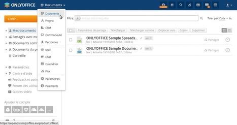 ONLYOFFICE, suite bureautique en ligne open source par Philippe Scoffoni   La veille en ligne d'Open-DSI   Scoop.it