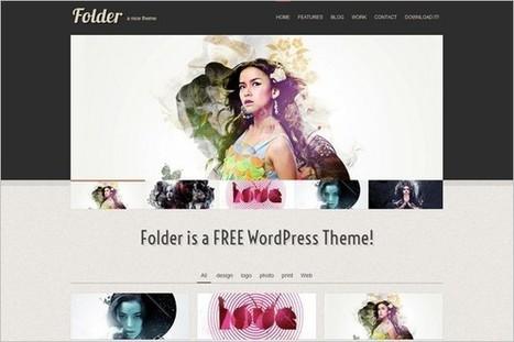 Folder is a free Portfolio WordPress Theme by LuisZuno   WP Daily Themes   Free & Premium WordPress Themes   Scoop.it