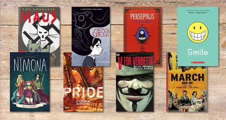 Graphic Novels in the Classroom: Enrich the way of learning #education   Profes mode ON   Scoop.it