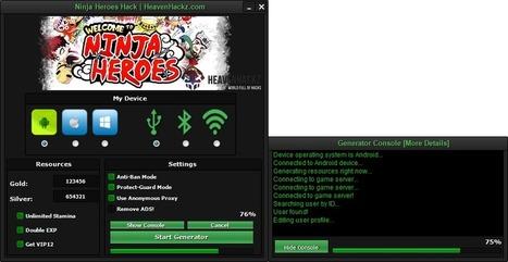 Ninja Heroes Hack Tool Free Download Ios Androi