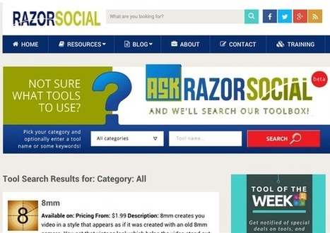 Curation Tools - Social Media Tools Directory | Content Marketing and Curation for Small Business | Scoop.it