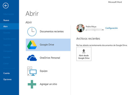 Edita tus documentos de Google Drive en Microsoft Office | eduvirtual | Scoop.it