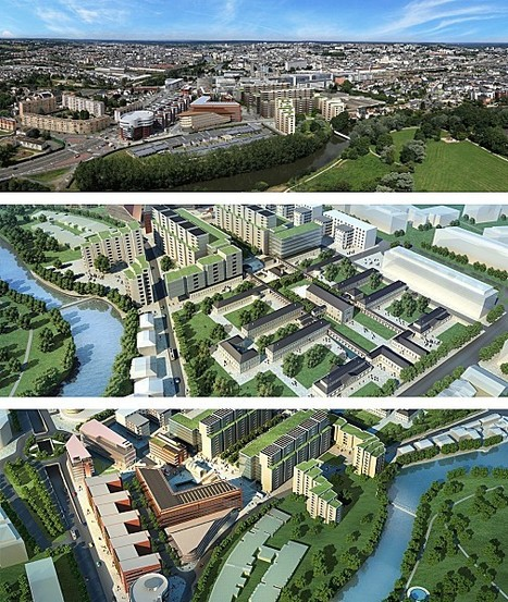Novaxud, histoire d'un projet urbain futur… au Mans | Urbanisme | Scoop.it