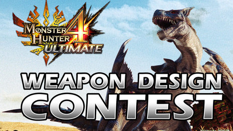 Capcom asks fans to design two weapons for Monster Hunter 4 Ultimate - Polygon | my english werbsite- Cees de roij | Scoop.it